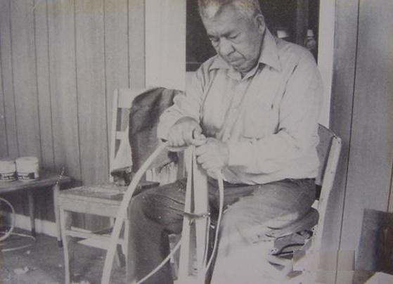 Basket making with Louis A. Martin
