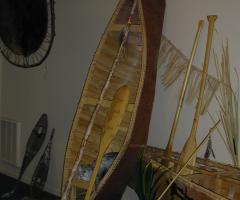 Canoe display