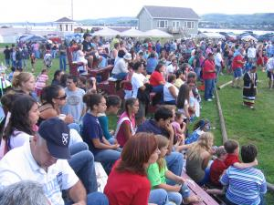 Spectators come from all walks of the world. People have come from as far as France to as close as Campbellton & Point-a-la-Croi